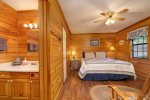 King Bedroom with Twin Bunkbeds