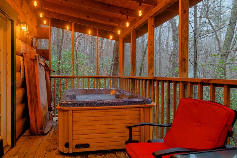 Helen, GA Cabin Rentals  Spring Garden   Semi Private 1 Bedroom ...