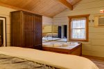 Screened-In Porch Hot Tub