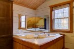 Screened-In Porch Sitting Area and Grill