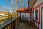 Amazing location on the Chattahoochee River in downtown Helen