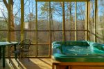 Hot Tub on Screen Deck