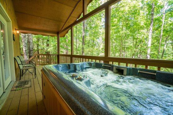 Helen, GA Cabin Rentals   Autumn Ridge Cabin   1 Bedroom with Hot ...