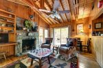 Beautiful rustic vaulted ceilings