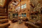 A River Runs Thru It - Elegant riverfront cabin nestled on the Chattahoochee River