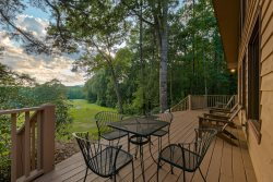 Beautifully Appointed 3 Bedroom Cabin on the 13th Hole in Helen`s Innsbruck Golfing Community