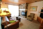 Comfortable living area with a full view of Lake Superior.