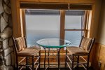 Enjoy sweeping, unobstructed Lake Superior views out of the windows.