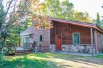 Base Camp is a cozy cabin located on a desirable stretch of Caribou Lake in Lutsen, MN.