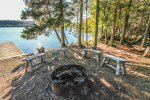 Enjoy the fire ring in the summer months, roasting marshmallows and sharing stories of your North Shore adventures.