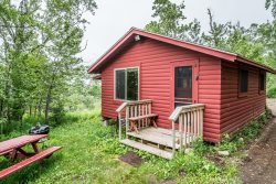 Superior Reflections 3 is a newly remodeled country cabin tucked in the woods, perfect for your Lake Superior getaway.