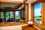 Large windows and the unique set-up of this unit means being able to take advantage of the incredible Lake Superior views from almost every room.