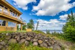 Terrace Point sits on a large section of Lake Superior shoreline and has access to two lakefront areas.