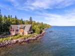 You don`t get much closer to the beautiful Lake Superior shoreline than you do at Always Grace.