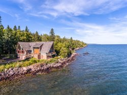 Always Grace is a uniquely beautiful home on the shores of Lake Superior near Grand Marais, MN.