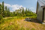 Located down a dirt road you are just a few miles from Grand Marais, but far enough away that you will find nothing but peace and quiet here.