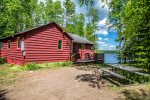 Cedar Cove is a quaint cabin located on Devil Track Lake near Grand Marais, MN.