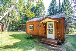 Hovland Pines is a private and lovely cabin perfect for a retreat in Hovland, MN.