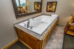 Wash your worries away in the the in-room jetted tub.