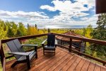 The private balcony has these incredible Lake Superior views.