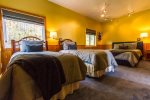 NOTE: The third bedroom now has two twin beds and one queen bed- perfect for kids or a family.