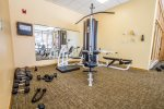 The fitness center is great for getting in your work out while on vacation.