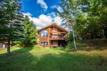 Devil Track Lake has 3 bedrooms, 2.5 baths with plenty of space for up to 8 guests.