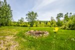 There are a couple of acres of maintained yard space and the rest of the 20-acre property is pristine forest.
