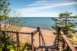 The views of Lake Superior are incredible, and during the warmer months there is direct access to a cobblestone beach.  Photos coming soon