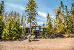 Agate Bay is a bright and cheerful Lake Superior home located in Grand Marais, MN.