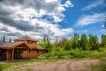 The long driveway leads you here- to your Gunflint Trail home away from home.