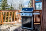 Enjoy the gas BBQ grill on warm summer nights.