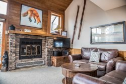 Caribou Highlands 518 is a ski-in/ski-out townhome at Caribou Highlands Resort.
