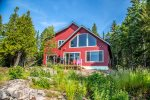 The large windows in this premium home provide excellent Lake Superior views.