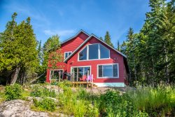 Cedar Shores Chalet is a Lakefront Vacation Rental Home on Cascade Beach Road in Lutsen, MN.