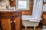 Take a step back in time in this classic bathroom.