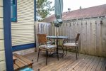Bring the charcoal BBQ grill out and have a summertime cookout on the back patio.
