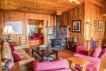 Serenity House is a gorgeous, custom cabin featuring two bedrooms and two bathrooms.
