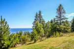 This 3-story townhome is located on a cliff overlooking Lake Superior.