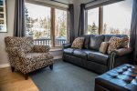 Upon entering the townhome you will find a bright and cheery sitting area, great for curling up with a good book.