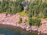 Perched atop the cliff`s edge overlooking Lake Superior- Nordkapp`s views are incredible.