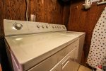 The washer and dryer is great for those coming for extended stays.