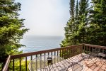 Enjoy unobstructed views of Lake Superior.