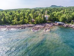 Anchor Point is a Luxury 5-Bedroom Located on the Shores of Lake Superior.