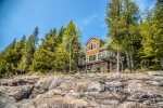 This spacious three bedroom, two bathroom home sits on a pristine section of Lake Superior`s shoreline on Cascade Beach Road.