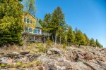 From the home you are just steps away from Lake Superior.