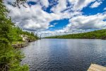 Wearing Water is located on beautiful Saganaga Lake at the end of the Gunflint Trail.