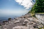 Enjoy 500 feet of private Lake Superior shoreline during your stay.