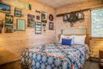 If you love horses, you will love the second bedroom`s decor.