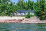 At Opels Shoreside Cabin you are just steps away from the private shoreline.